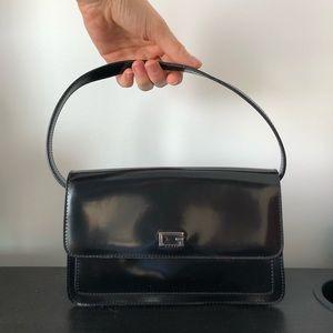 Stunning small black Guess purse